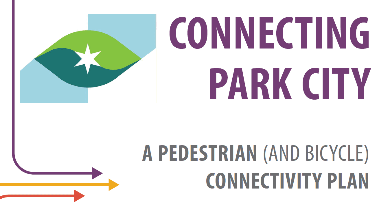 Flyer for link to pedestrian connectivity plan document