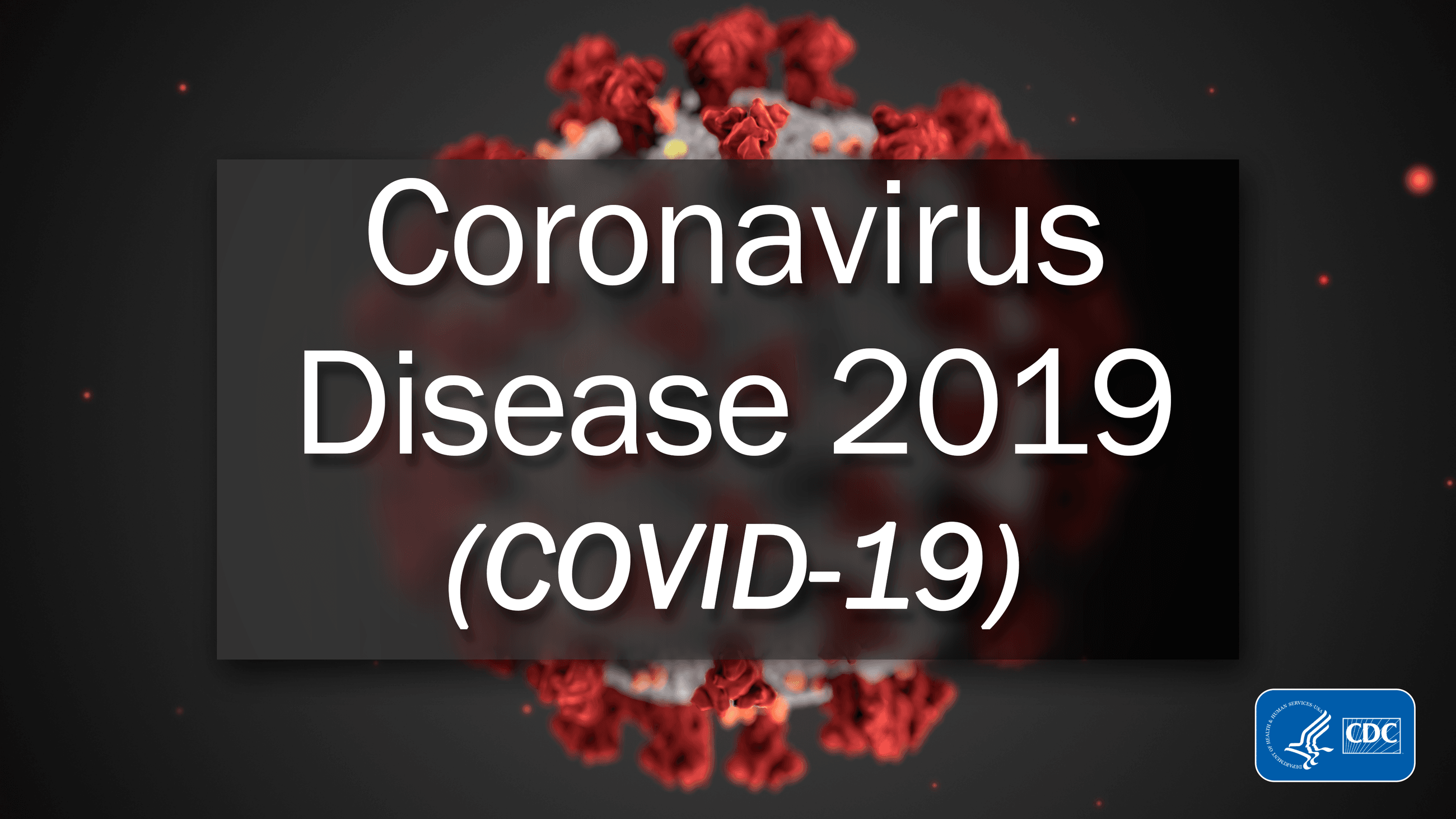 Coronavirus graphic flyer