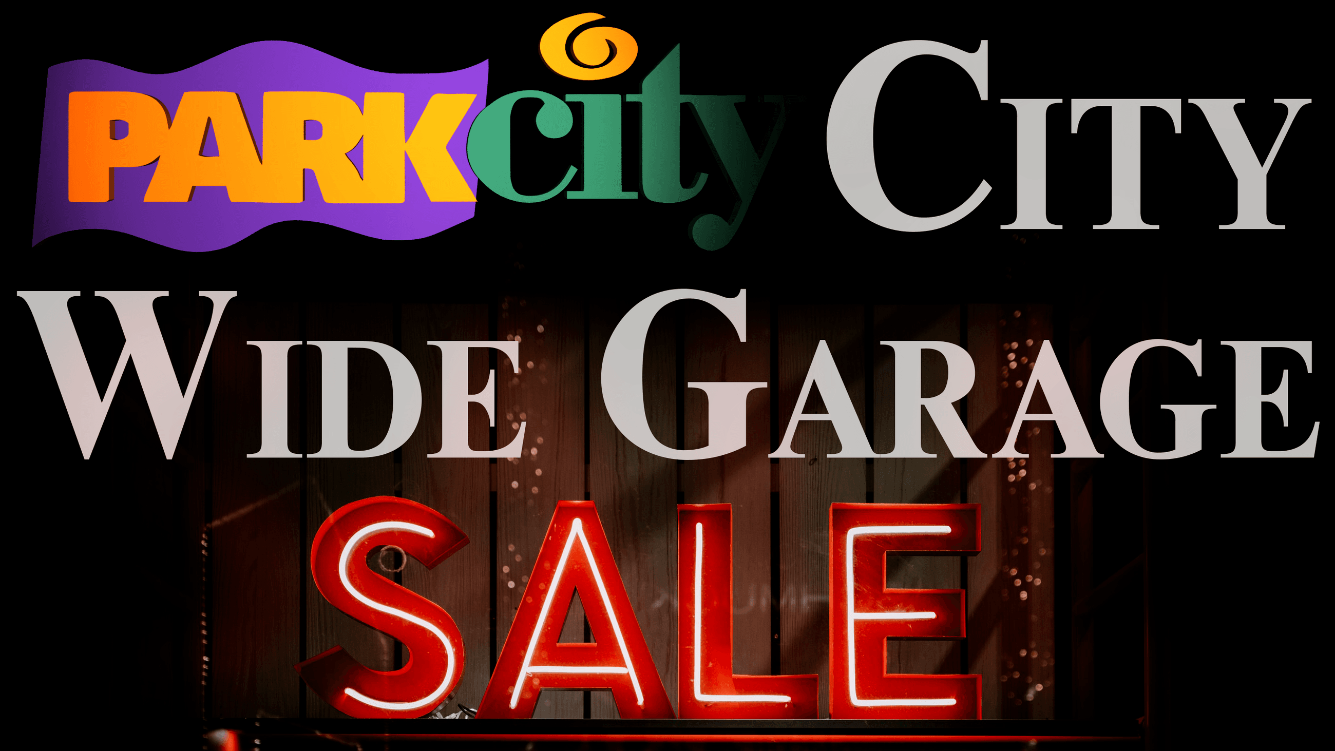 City Wide Garage Sale Header Image