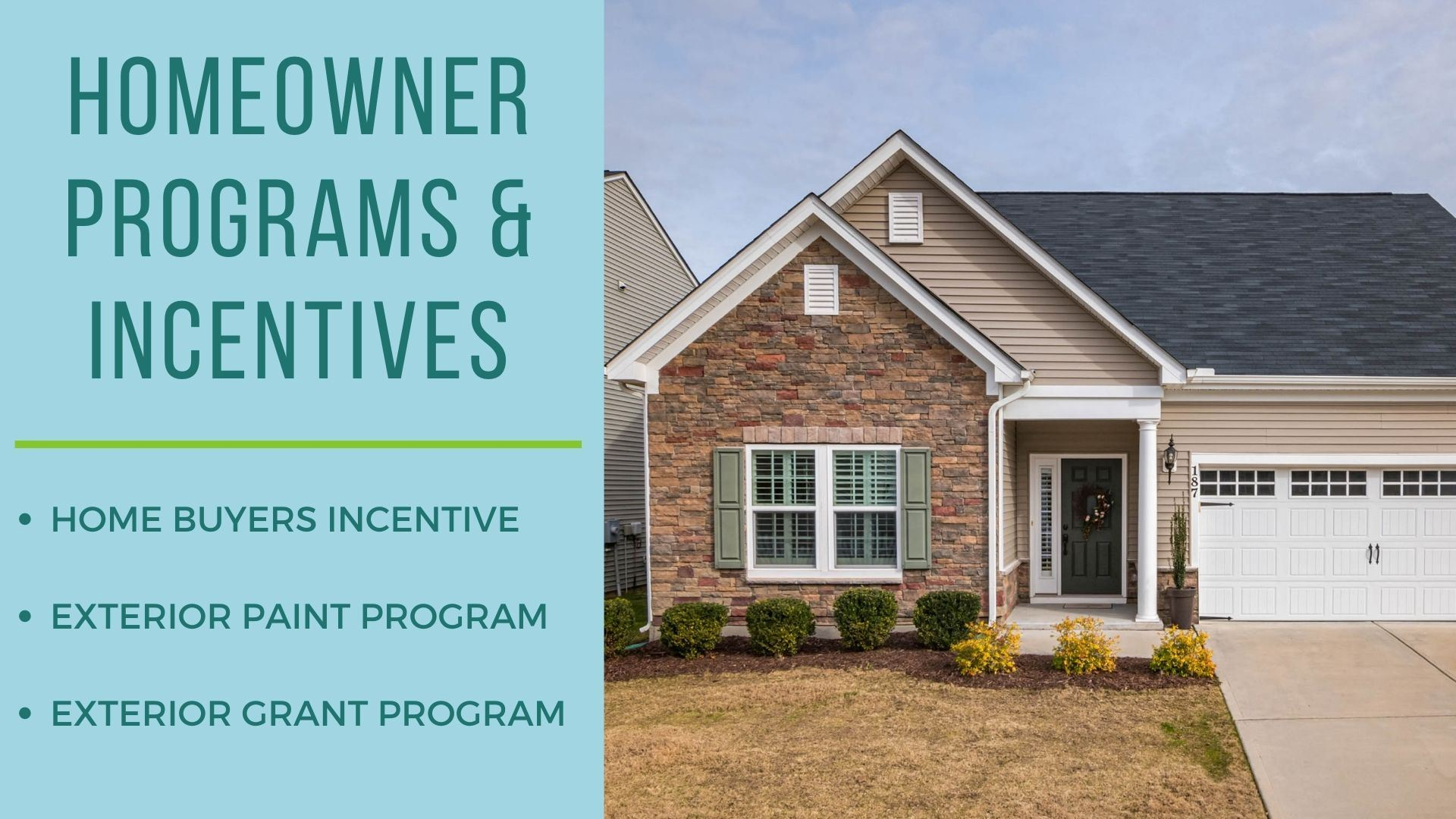 Park City Homeowners Incentives and Programs